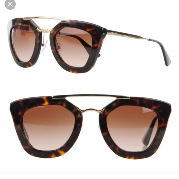 d2e12519fa Prada Cinema SPR 09Q Tortoise Sunglasses. M 5c6a2b37f63eeac378f94916. Other  Accessories ...
